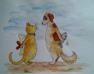 Cat N Mice by Sheli Dey